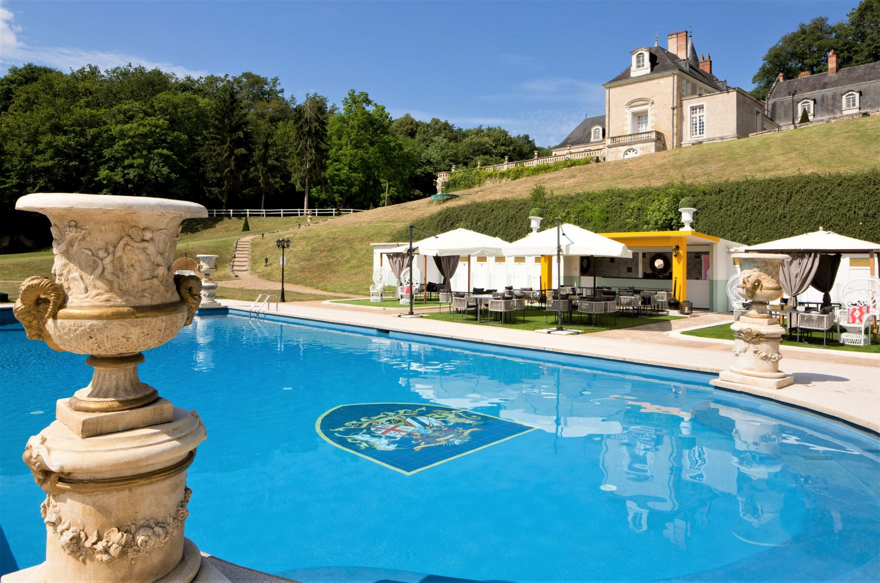Château de Beauvois **** | Hotel Chateau Loire Valley | Swimming pool